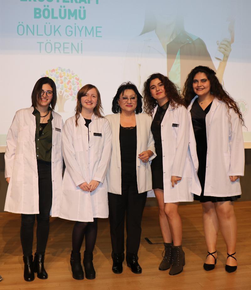 Ergoterapi öğrencilerinin önlük heyecanı 6