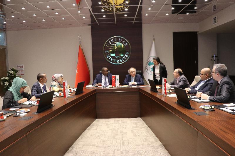 Üsküdar Üniversitesi ve Kenya arasında işbirliği