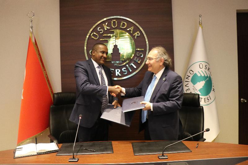 Üsküdar Üniversitesi ve Kenya arasında işbirliği 2