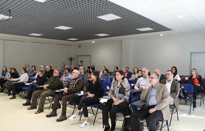 Prof. Dr. Tayfun Uzbay Bursa'da Eczacılar ile bir araya geldi 2