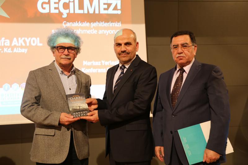 """Albay Mustafa Akyol: """"Türk Milleti'ni dirilten yer: Çanakkale'dir!"""" 4"""