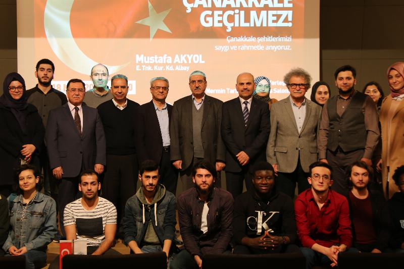 """Albay Mustafa Akyol: """"Türk Milleti'ni dirilten yer: Çanakkale'dir!"""" 5"""