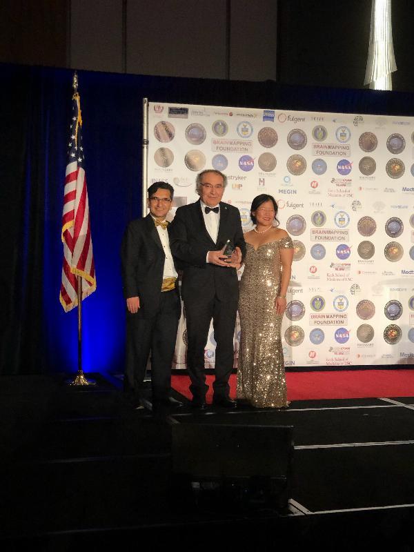 2019 Golden Axon Liderlik Ödülü Prof. Dr. Nevzat Tarhan'a