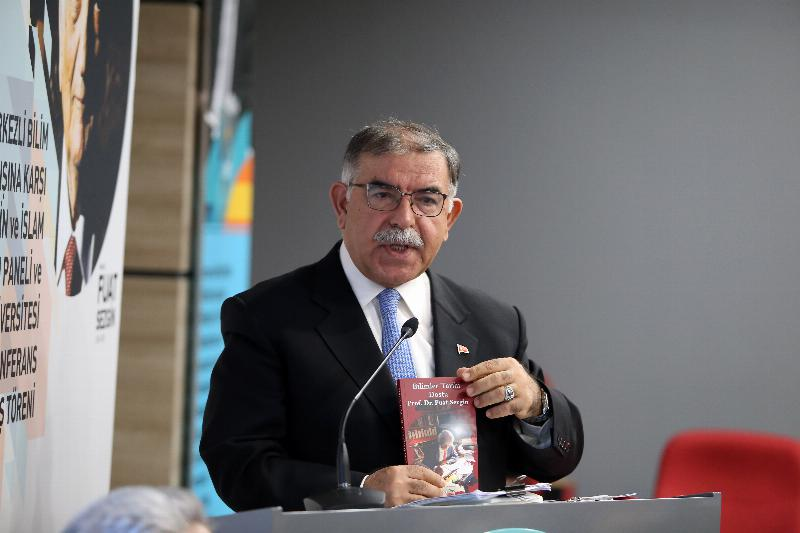 Prof. Fuat Sezgin Conference Hall inaugurated at Üsküdar University 7