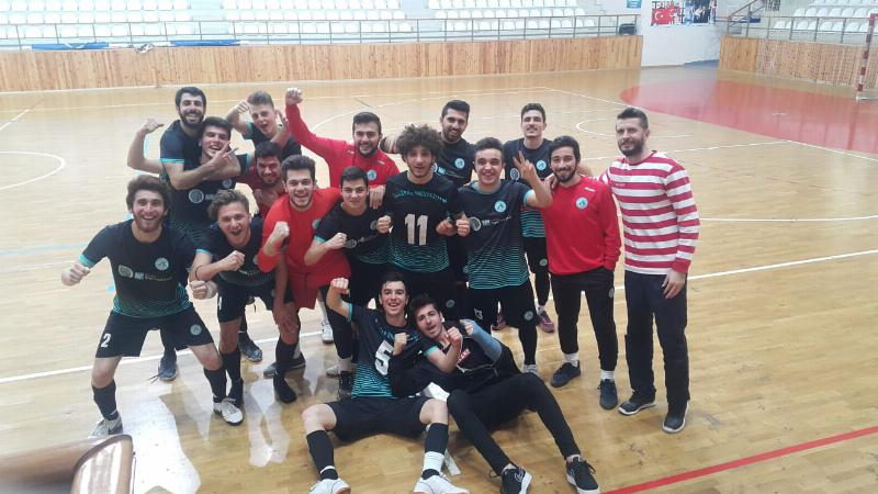 Erkek Futsal takımından üst üste iki galibiyet