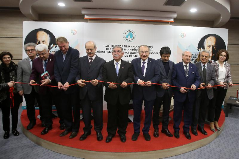 Prof. Fuat Sezgin Conference Hall inaugurated at Üsküdar University 8