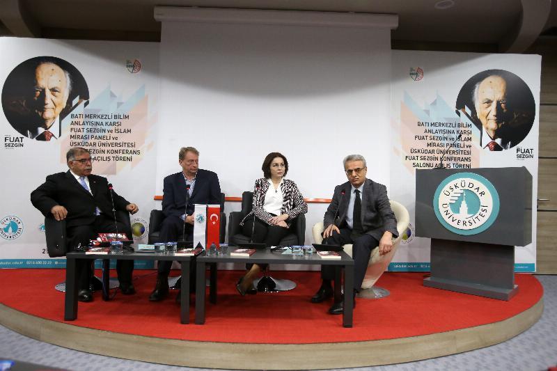 Prof. Dr. Fuat Sezgin'in adı, Üsküdar Üniversitesi'nde yaşayacak 4