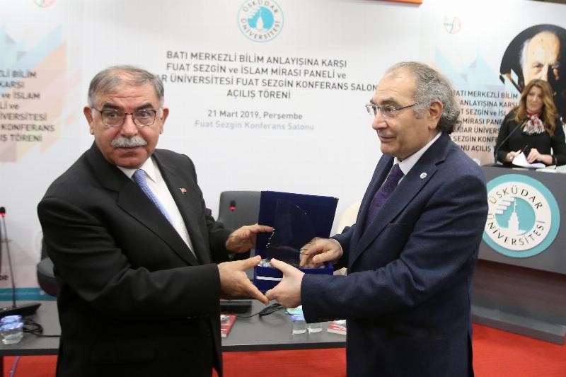 Prof. Dr. Fuat Sezgin'in adı, Üsküdar Üniversitesi'nde yaşayacak 9