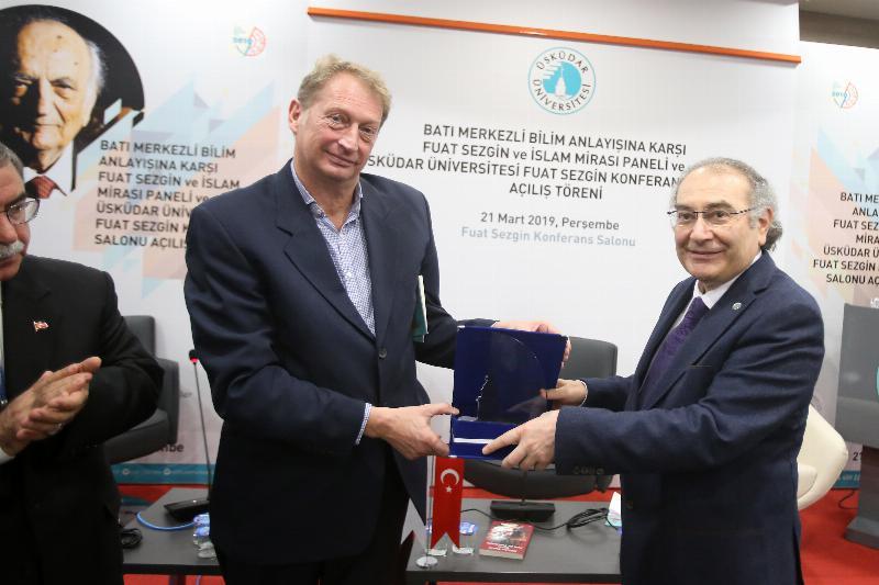 Prof. Dr. Fuat Sezgin'in adı, Üsküdar Üniversitesi'nde yaşayacak 10