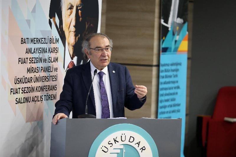 Prof. Dr. Fuat Sezgin'in adı, Üsküdar Üniversitesi'nde yaşayacak 3