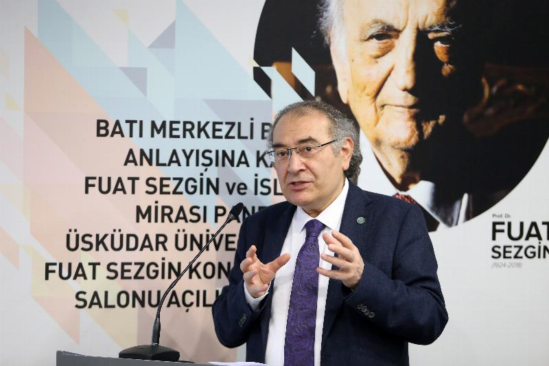 Prof. Fuat Sezgin Conference Hall inaugurated at Üsküdar University 2