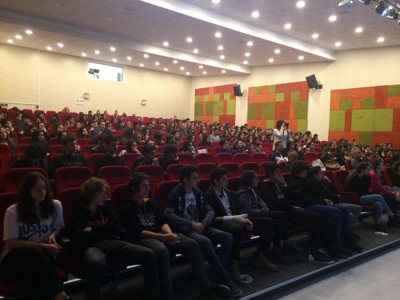 Prof. Dr. Deniz Ülke Arıboğan İzmir'de öğrencilerle buluştu 2
