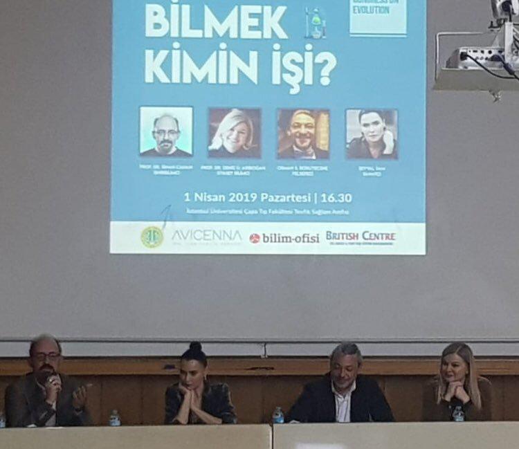 Prof. Dr. Arıboğan ve Prof. Dr. Canan, Evrimi konuştu!