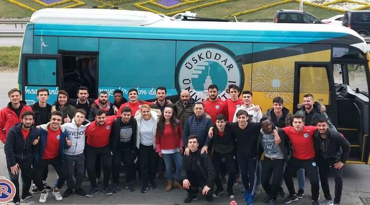 Üsküdar Üniversitesi salon futbol takımı 1. Lig'te
