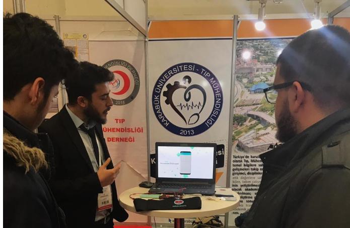 Üsküdar Üniversitesi öğrencileri 26. Expomed Eurasia fuarına katıldı 4
