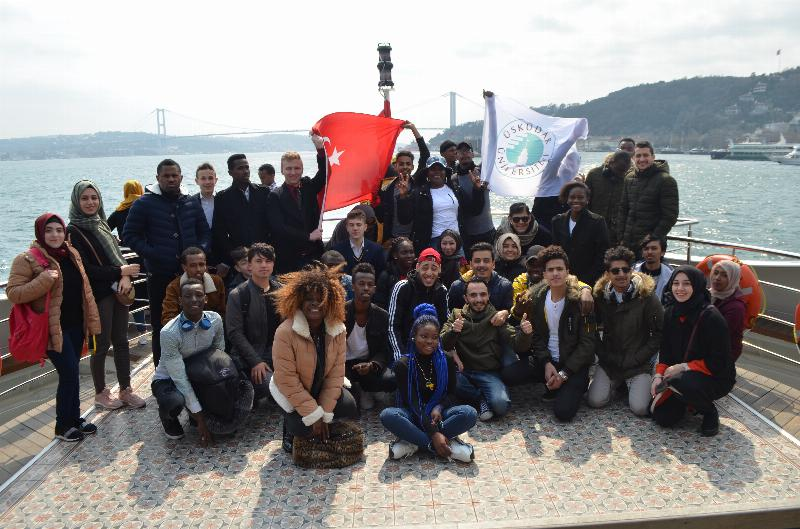 ÜSTÖMER students enjoyed a trip at Bosporus 3