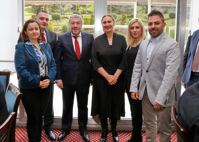 Üsküdar Üniversitesi Emniyetin 174. Kuruluş yıldönümü programına katıldı