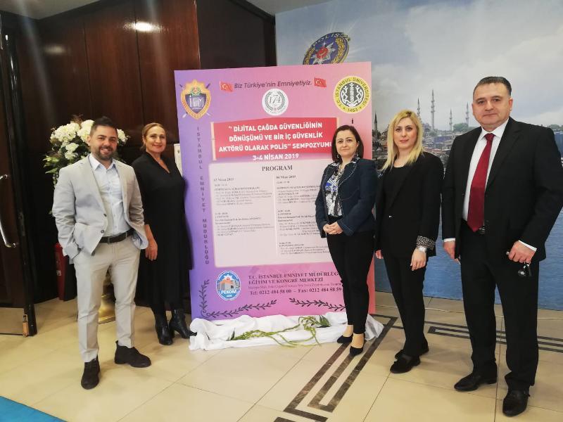 Üsküdar Üniversitesi Emniyetin 174. Kuruluş yıldönümü programına katıldı 3