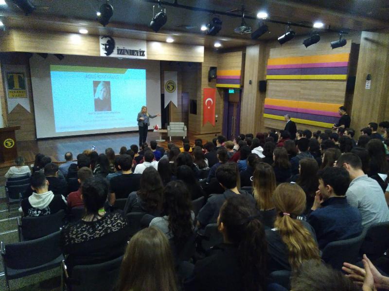 Prof. Dr. Deniz Ülke Arıboğan aynı gün 2 farklı konferans verdi