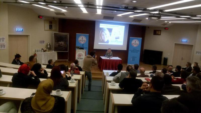 Prof. Dr. Deniz Ülke Arıboğan aynı gün 2 farklı konferans verdi 2