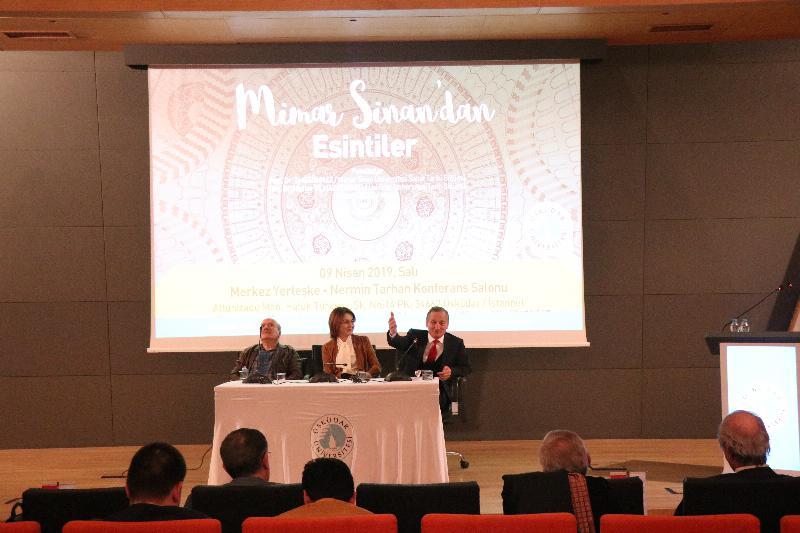 Mimar Sinan ölümünün 431'inci Yıldönümünde Üsküdar Üniversitesinde anıldı