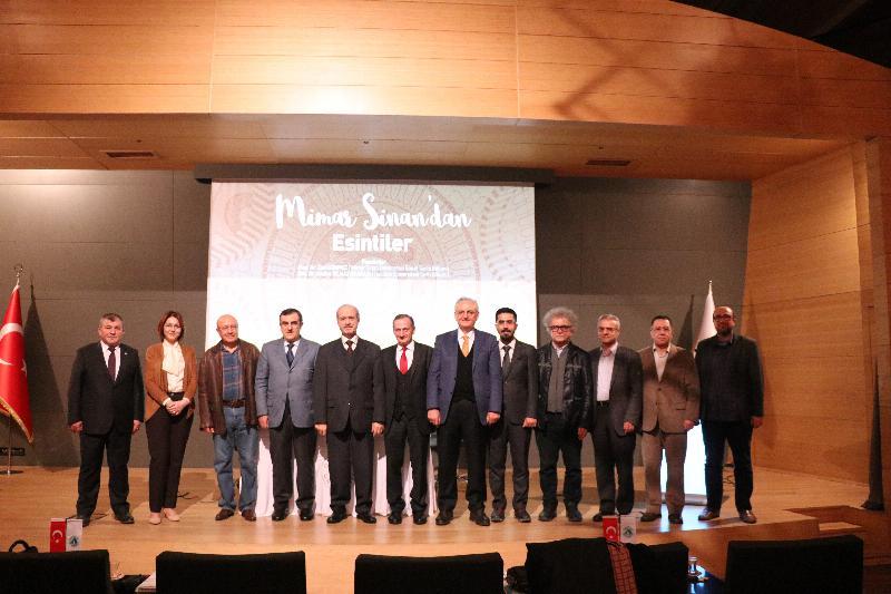 Mimar Sinan ölümünün 431'inci Yıldönümünde Üsküdar Üniversitesinde anıldı 6