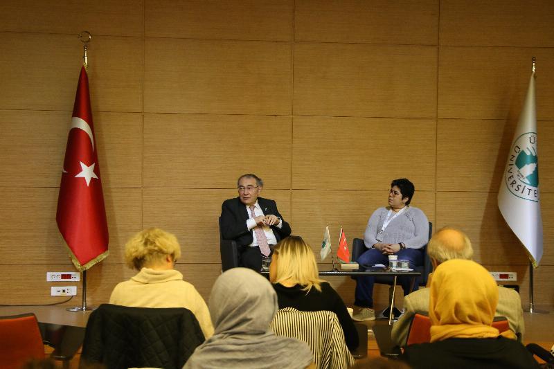 Kitap kulübünün konuğu Prof. Dr. Nevzat Tarhan oldu