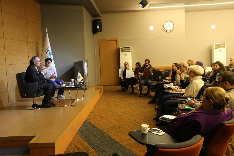 Kitap kulübünün konuğu Prof. Dr. Nevzat Tarhan oldu 4
