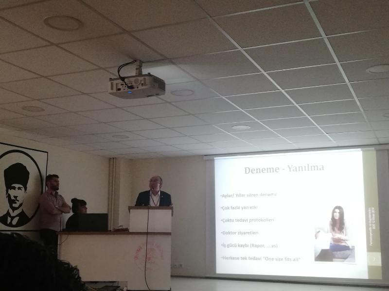 Prof. Dr. Muhsin Konuk 10'uncu Biyoloji Günlerine katıldı 2
