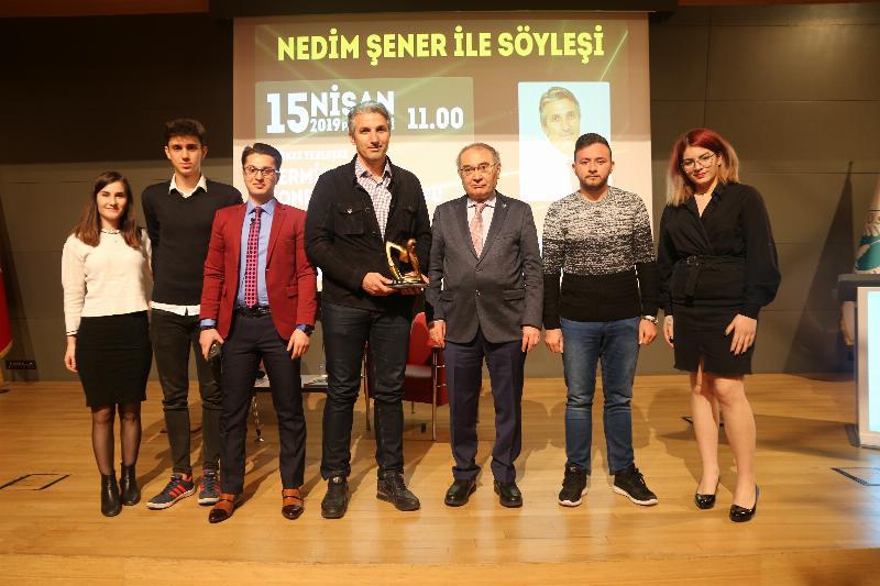 Gazeteci Nedim Şener Üsküdarlı öğrencilerle buluştu 4