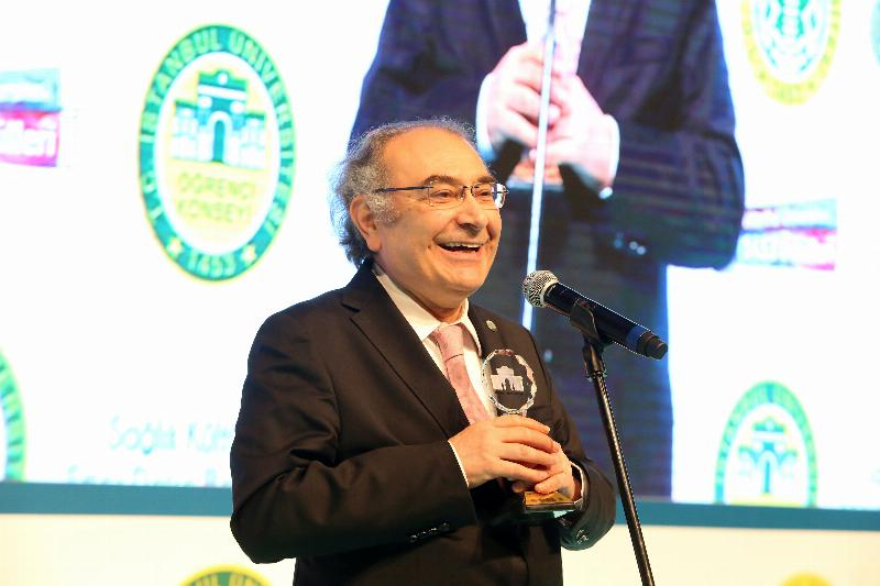 "Prof. Nevzat Tarhan received ""Author of the Year"" Award 2"