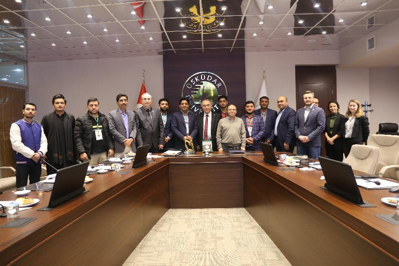 Cooperation between Üsküdar University and Pakistan National Youth Council 5