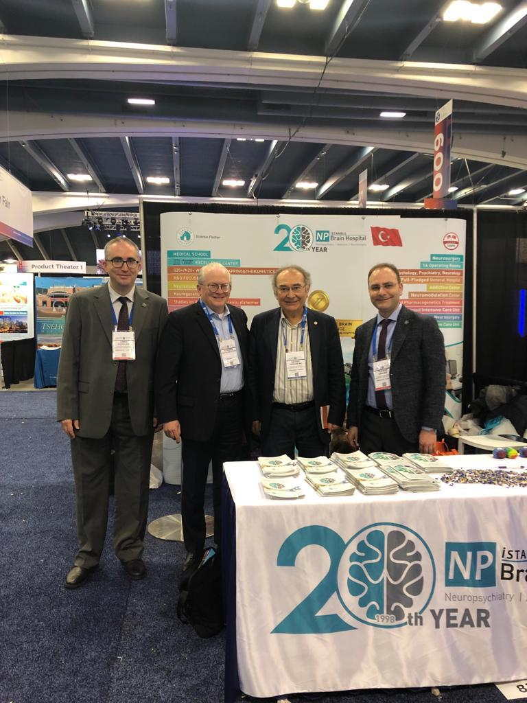 2019 APA Kongresinde Üsküdar Üniversitesi ve NPİSTANBUL Beyin Hastanesine yoğun ilgi