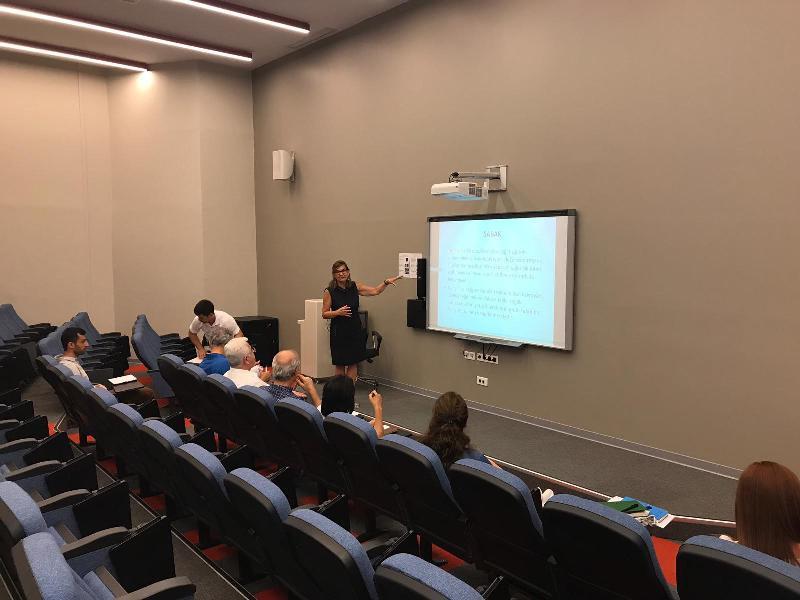 Üsküdar Üniversitesi Sağlık Yönetimi Program Çalışanları, SABAK Kurum Bilgilendirme Eğitiminde