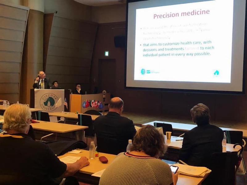 Üsküdar Üniversitesi Japonya'daki G20 – N20 Zirvesi'nde