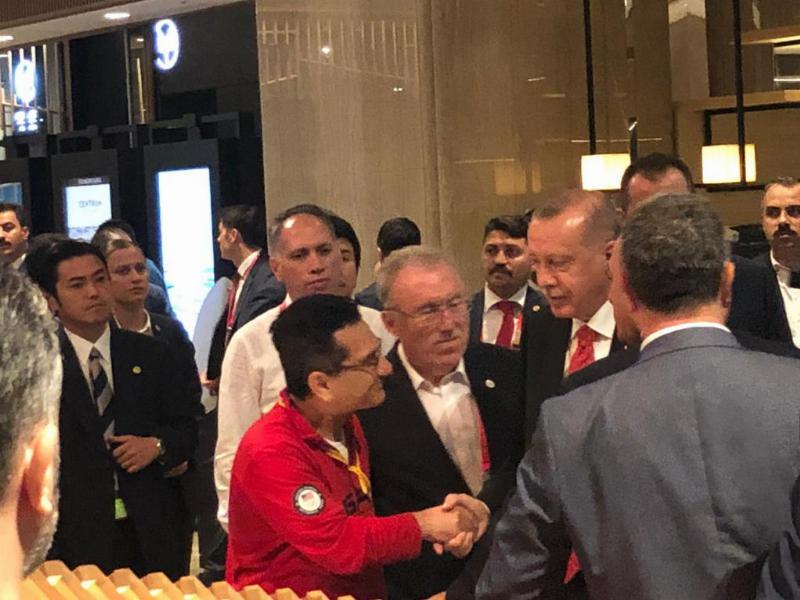 Osaka'da Cumhurbaşkanı Erdoğan'a sürpriz teşekkür…