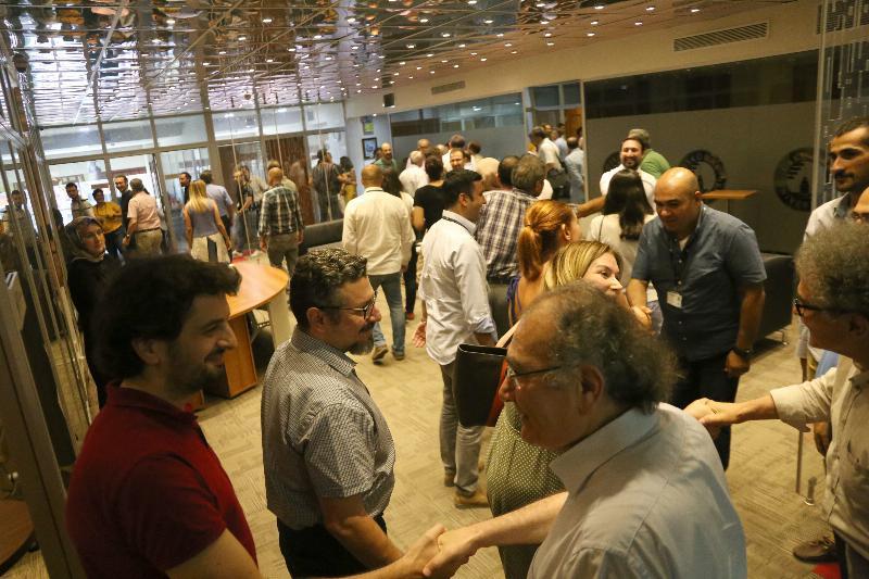 Üsküdar Üniversitesinde bayramlaşma sevinci!