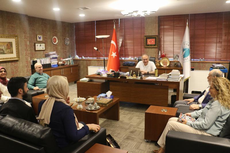 Darülaceze Başkanlığından Üsküdar Üniversitesine iade-i ziyaret
