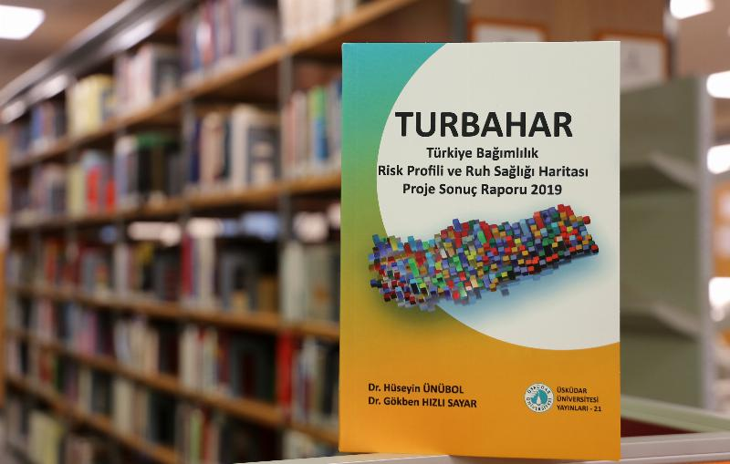 Turkey's Addiction Risk Profile and Mental Health Map (TURBAHAR) is published into a book