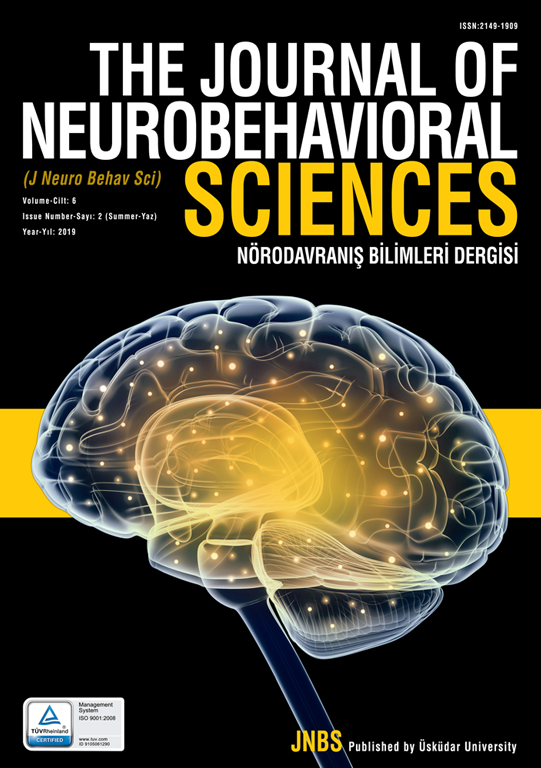 The Journal of Neurobehavioral Sciences (JNBS) CiteFactor endeksinde