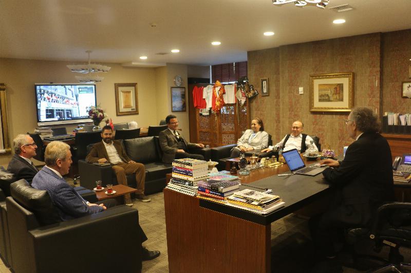 Kütahya Sağlık Bilimleri Üniversitesinden Üsküdar'a ziyaret