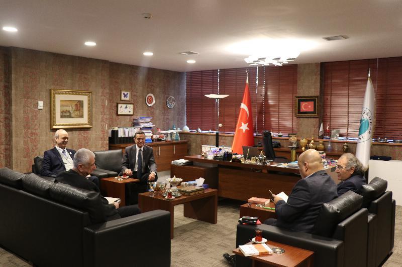 EDMER' den Prof. Dr Nevzat Tarhan'a ziyaret