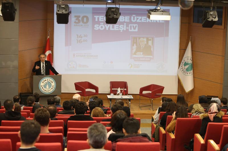 Prof. Dr. Nabi Avcı Üsküdar'da öğrencilerle buluştu