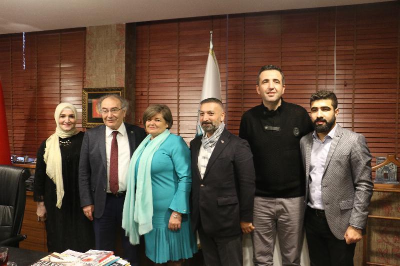 Uluslararası Gorazde Üniversitesinden Üsküdar'a ziyaret