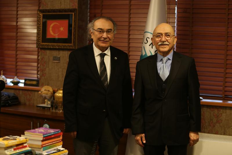 Prof. Dr. Nevzat Tarhan'a 51 yıllık dost ziyareti…