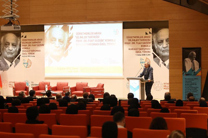 """Prof. Dr. Nevzat Tarhan: """"Fuat Hoca, Rönesans'ın gerçek referansının anlaşılmasını sağladı"""