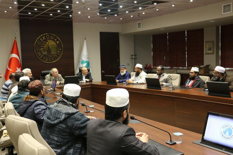 Bangladeşli heyet Üsküdar Üniversitesini ziyaret etti