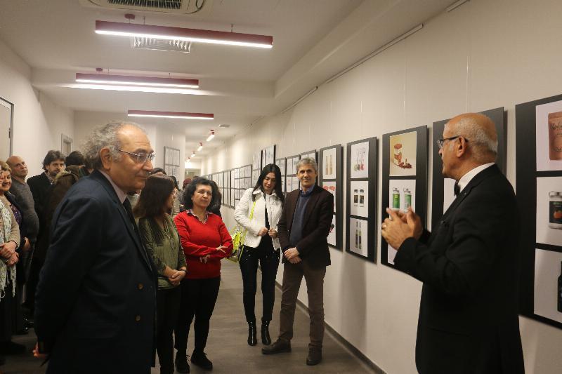 Öğrenci Tasarımları Sergisi ziyarete açıldı