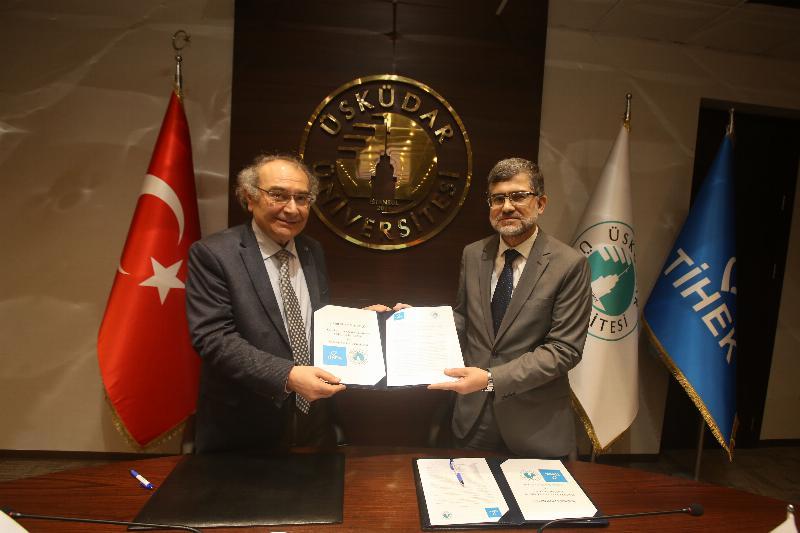 Üsküdar Üniversitesi ile TİHEK işbirliği protokolü imzaladı