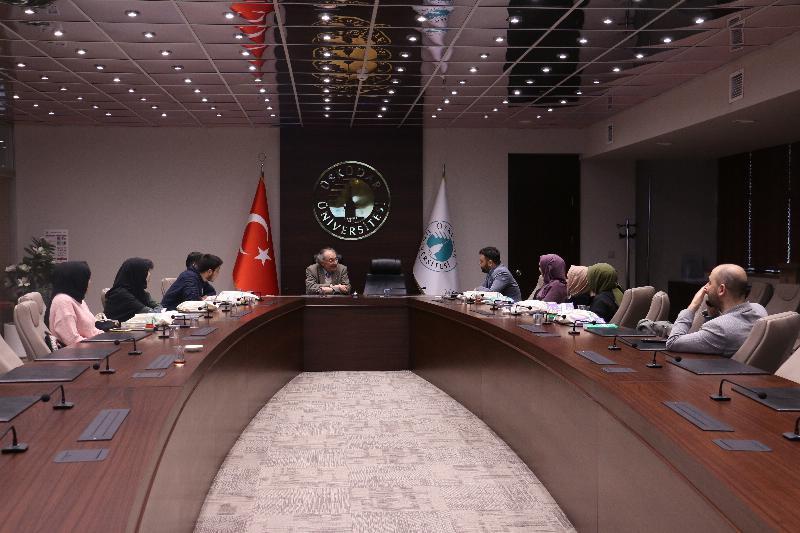 Prof. Dr. Nevzat Tarhan, İzmir Kâtip Çelebi Üniversitesi öğrencilerini misafir etti